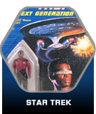 Star Trek action figure toys
