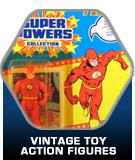 Vintage action figure toys